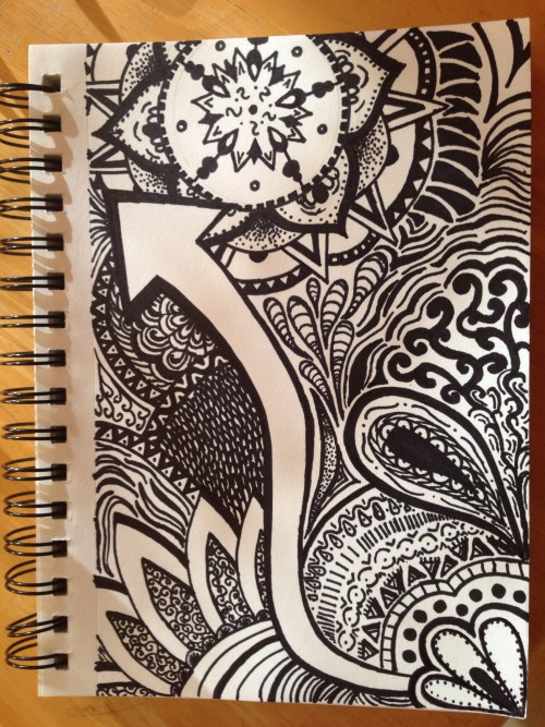 sharpie art – Something to Chiu On