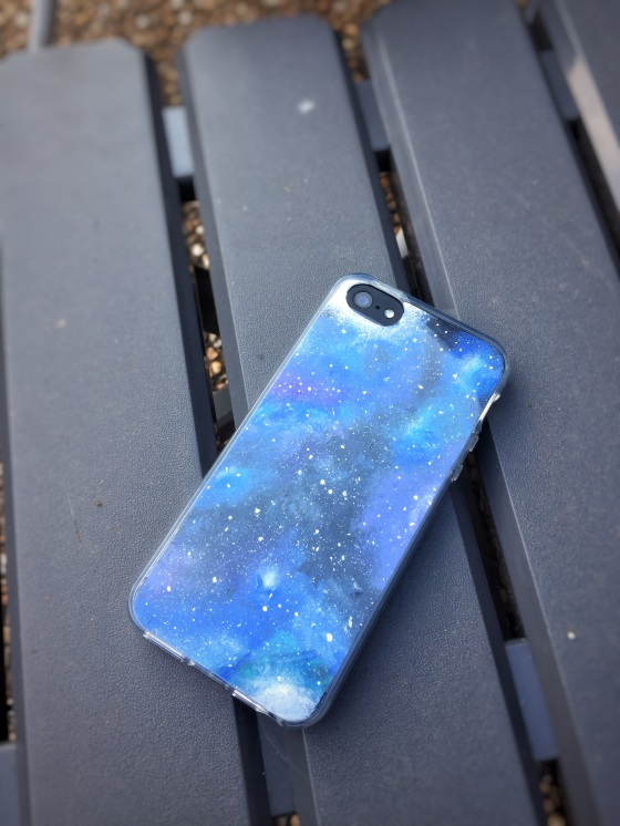 brand new bae8b 5a6e7 DIY Galaxy (Shoes and Phone Case) – Something to Chiu On